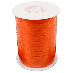 Bolduc ruban standard satiné, large Orange  10 mm x 250 m