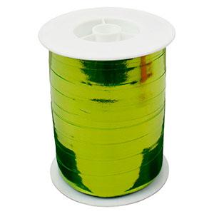 Shiny lint, breed Lime  10 mm x 250 m