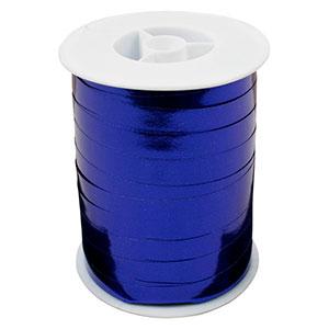 Shiny lint, breed Blauw  10 mm x 250 m