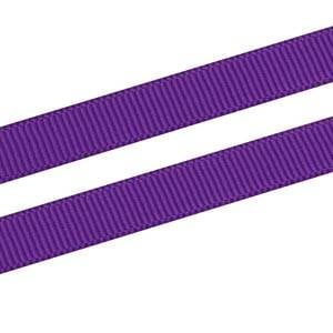 Grosgrain Satin ribbon, narrow Purple, Grosgrain  9 mm x 91,4 m