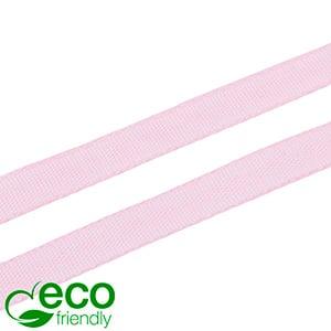 ECO Lint Gemaakt van Houtpulp, Smal Roze  9 mm x 91,4 m