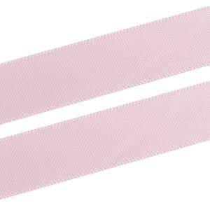 Glad Satijnlint, breed Lichtroze  16 mm x 91,4 m
