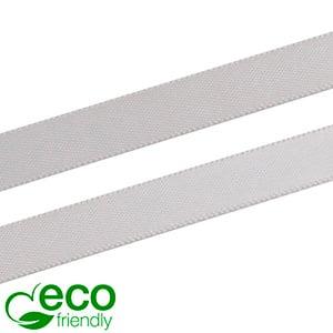 ECO Satinbånd, smalt Sølv  9 mm x 91,4 m