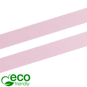 ECO Satin ribbon, slender Rose  9 mm x 91,4 m