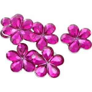150 szt. kwiatków, małych Kolor różowy  x 18