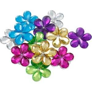 Bloemen klein, 150 st. Gemengde kleuren  x 18