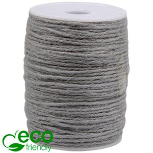 ECO Jute Twine Grey  2 mm x 100 m