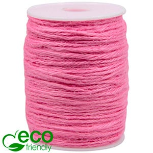 ECO Jute Twine Rose  2 mm x 100 m