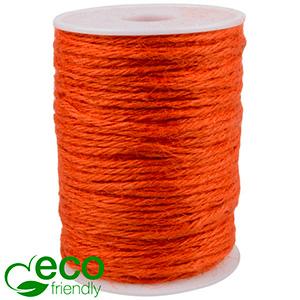 ECO Jute Twine Orange  2 mm x 100 m