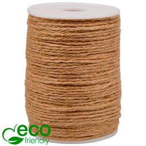 ECO Jute Twine Plain Brown  2 mm x 100 m