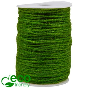 ECO Jute Twine Green  2 mm x 100 m