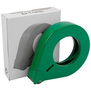 Dyspenser do wąskiej taśmDyspenser taśmy klejącejy Zielony.