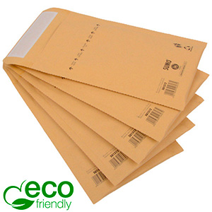 Eco-friendly Mailers, Small Brown - padded envelope, 100% recycled paper 135 x 215