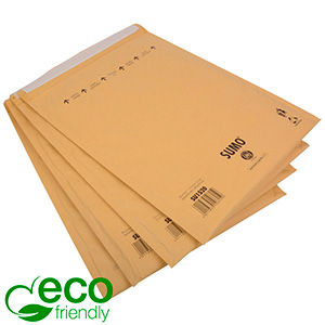 Eco-friendly Mailers, XL Brown - padded envelope, 100% recycled paper 365 x 464