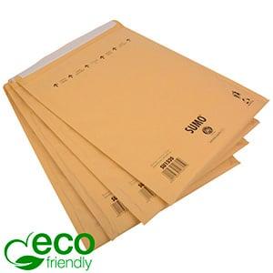 Milieuvriendelijke enveloppen, extra groot Bruin - luchtkussenenvelop, 100% gerecycled papier 365 x 464