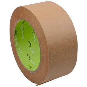 ECO papierowa taśma klejąca 48mm szeroka. Dobrze klejąca brązowa taśma  48 mm x 50 m