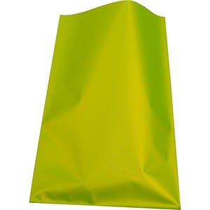 Small Foil Bag for Jewellery, 500 pcs Matt Lime Green 80 x 125