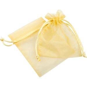 Sakiewka z organdyny, Mała Kolor złoty 90 x 120