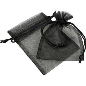Sakiewka z organdyny, Mała Kolor czarny 90 x 120