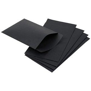 Papirspose lille, 250 stk. Sort 75 x 130 100 gsm