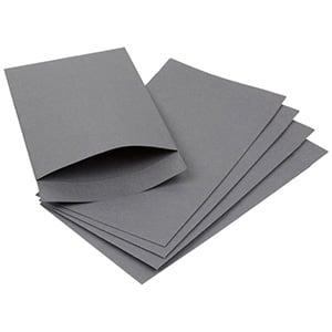 Papirspose lille, 250 stk. Grå 75 x 130 100 gsm