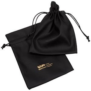 Kunstleren sieradenzakjes, groot Zwart nappa kunstleerleer 120 x 170