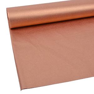 240 vellen Zijdevloeipapier, enkelzijdig Koper 760 x 505 17 gsm
