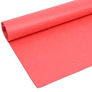 Zijdevloeipapier met glitters, 240 vellen Rood 760 x 505 17 gsm