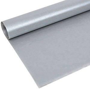 Zijdevloeipapier met parelglans, 240 vellen Zilver parelmoer 760 x 505 17 gsm
