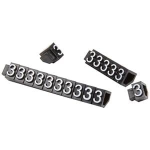 5 mm Prijsblokjes voor sieraden, 20 st. Nr. 3