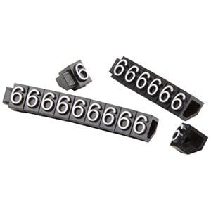 5 mm Prijsblokjes voor sieraden, 20 st. Nr. 6