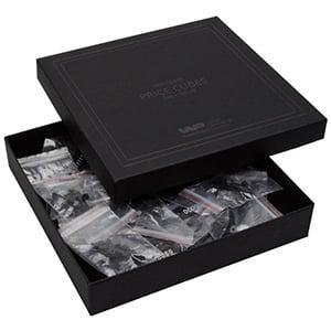 460 chiffres en 5 mm assorties Cubes noirs