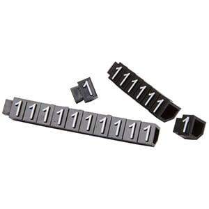 6 mm Prijsblokjes voor sieraden, 20 st. Nr. 1