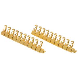 Chiffres prix de luxe pour bijoux 8 mm, 20 pcs Nº 3, Couleur or
