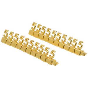 8 mm Luxe prijsblokjes voor sieraden, 20 st.