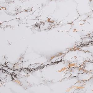 Papier cadeau nº 0993 Blanc avec motif de marbre  40 cm - 160 m
