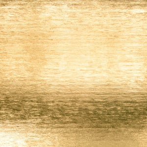 Papier cadeau nº 9911 Or métallique avec texture rayée  57 cm - 100 m