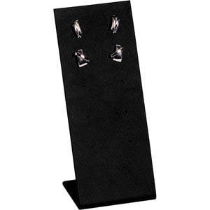Display voor Oorsieraden, 5 paar Zwart Nappa 65 x 165
