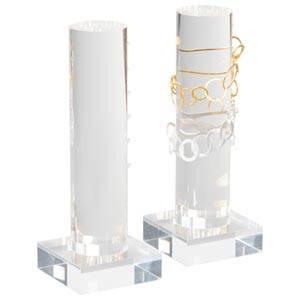 Display Zuil voor 6 Armbanden Transparant acryl 220 x 80 x 80 Ø 50mm