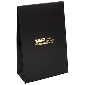 Bulk Buy: Matt Gift-bag, Small Black 90 x 135 x 45