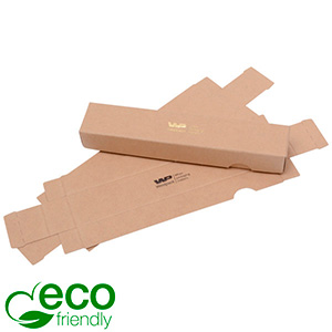 Plano A Two-piece Flat-packed Gift box, 160 mm Matt Plain Brown FSC®-certified cardboard 160 x 28 x 20