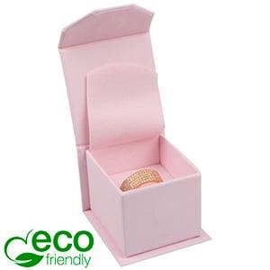 Milano ECO sieradendoosje voor ring Roze Soft-Touch Karton / Roze foam 47 x 52 x 39