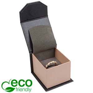 Milano ECO sieradendoosje voor ring Pearl antraciet-zilver karton/ Antraciet interieur 47 x 52 x 39