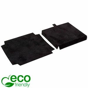 ECO wkładka na łańcuszek z zawieszką/bransoletkę Czarny karton pokryty welurem 79 x 79 x 10