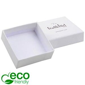 Frankfurt ECO sieradendoosje voor ring Natuur Wit karton / Zonder foam 50 x 50 x 17
