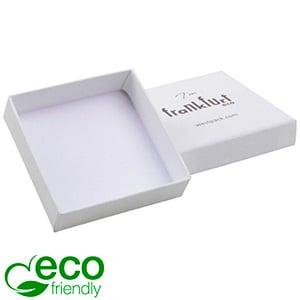 Frankfurt Eco - Ecrins Boucles d'oreilles/ pendant Blanc papier tacheté / Sans intérieur 65 x 65 x 17