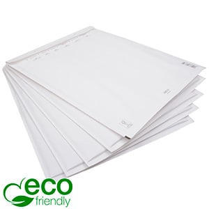 200x Eco-friendly Bubble Mailers, small White paper envelope with plastic bubble-lining 178 x 120 x 4