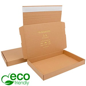 ECO Postdoosje Briefpost, 245x175x29 mm Naturel karton met tapesluiting 245 x 175 x 29