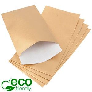Papirspose lille, 500 stk. Guld med tekstur 90 x 150 80 gsm