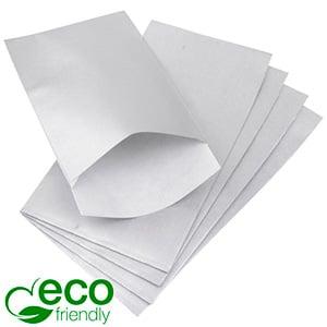 Papirspose lille, 500 stk. Sølv med tekstur 90 x 150 80 gsm